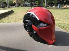 Best Cosplay Mask in U.S Redhood Deathstroke Daredevil etc Red Hood Jason Todd, Jason Todd Batman, Superhero Cosplay, Disney Cosplay, Robot Concept Art, Armor Concept, Batman Arkham Knight Characters, Armadura Cosplay, Airsoft Helmet