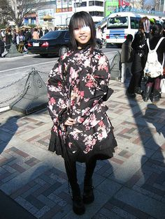 Wa Lolita, Japanese subcuture, 2000s - combines Lolita with traditional Japanese clothing