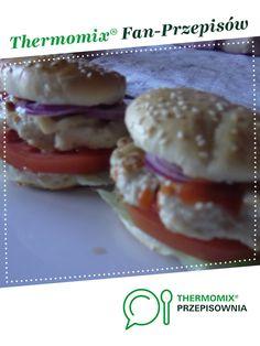 Hamburgery z indyka jest to przepis stworzony przez użytkownika olqee. Ten przepis na Thermomix<sup>®</sup> znajdziesz w kategorii Dania główne z mięsa na www.przepisownia.pl, społeczności Thermomix<sup>®</sup>.