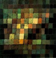 """""""Estática-dinámica de gradación"""" de Paul Klee (1879-1940, Switzerland)"""