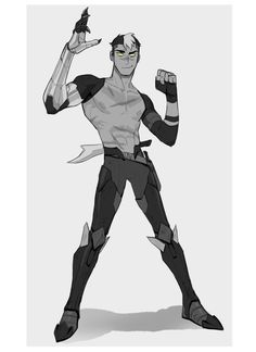 — Dark!shiro in galra commander outfit based on...