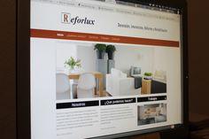 Página web de Reforlux.