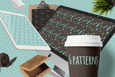 Check out Cocoamint Pattern by Webvilla on Creative Market
