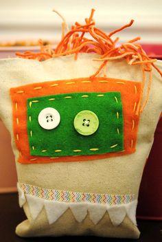 Why not make this Cute little Monster pillow at Lollipop Art Lounge's Open Studio.   www.lollipopartlounge.com