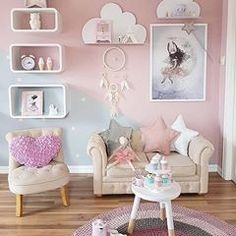 New baby girl room paint ideas Childrens Room Decor, Baby Room Decor, Bedroom Decor, Decorating Bedrooms, Bedroom Storage, Girl Bedroom Designs, Girls Room Design, Baby Bedroom, Baby Girl Bedroom Ideas