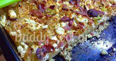 πατσαβουρόπιτα_daddy-cool.gr Greek Recipes, Pie Recipes, Calzone, Hawaiian Pizza, Vegetable Pizza, Lasagna, Quiche, Macaroni And Cheese, Food And Drink