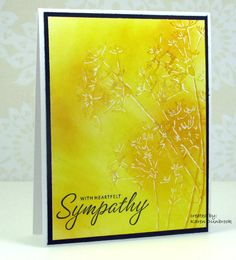 Snippets: Sympathy in Yellow