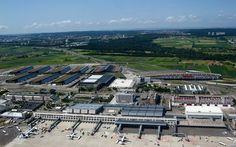 Flughafen und neue Messe (Luftaufnahme) - von Zeit zu Zeit - Stuttgarter Zeitung