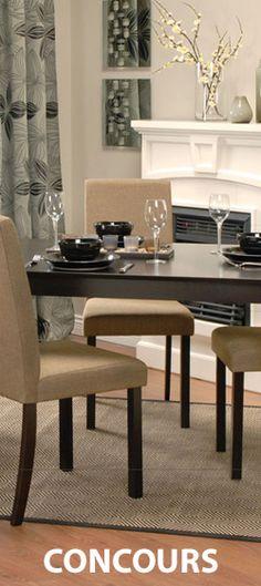 Gagnez une carte-cadeau JYSK de 500$ Dining Chairs, Furniture, Home Decor, Kitchen Armoire, Pageants, Home Ideas, Gift, Dinner Chairs, Homemade Home Decor