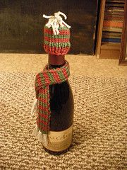 Wine Hat and Scarf (pattern included!) - KNITTING