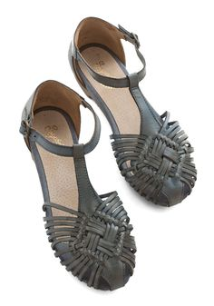 Shoes - Holdin' My Breath Sandal in Grey