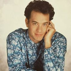 What's your all time favourite movie?☺ (#tomhanks #cute #perfect #young…
