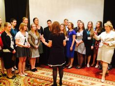 The St. Louis Teen Eagle chapter received encouraging words from Michele Bachmann on pursuing conservative values.