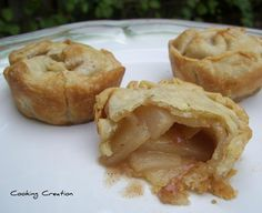 Cooking Creation: Mini Pear Pies