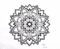 Tattoos News Pics Videos And Info Mandalas Painting, Mandalas Drawing, Mandala Coloring Pages, Mandala Tattoo Mann, Tattoos Mandalas, Geometric Sleeve, Geometric Mandala, Lotus Mandala, Mandala Dots
