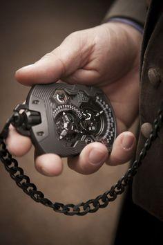 one cool pocket watch - Urwerk UR-1001