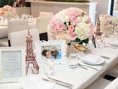 Inside Adrienne Bailon's Co-Ed, Parisian Wedding Shower Parisian Wedding Theme, Paris Wedding, Paris Theme, Our Wedding, Lace Wedding, Adrienne Bailon Wedding, Techno, Engagement Celebration