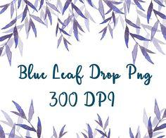 Blue leaf drop clipart leaf drop png blue leaf clipart leaf