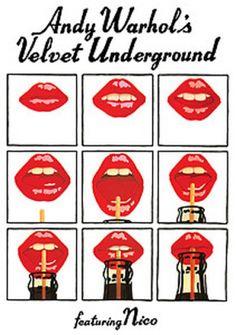 velvet underground andy warhol | Andy Warhol's Velvet Underground Featuring Nico (Poster)