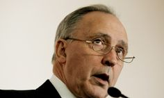 Paul Keating describes first world war as 'a war devoid of any virtue'