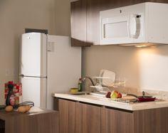 Cocineta en todas las habitaciones Hoteles Extended Suites