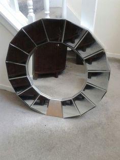 Circular Beveled Mirror in Stone Mountain, GA (sells for $100)