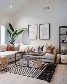 Best Solution Small Apartment Living Room Decor Ideas 2019 – Home Decoration Small Apartment Living, Home Living Room, Living Room Designs, Living Room Interior, Scandinavian Interior Living Room, Living Room Decor For Small Spaces, Natural Living Rooms, Tropical Living Rooms, Small Apartments