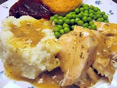 Have you ever tried making turkey breast in a crock pot?  Must try it.  Great for hot turkey sandwiches.