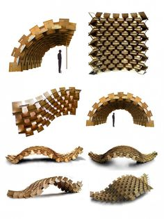 """Gallery of the """"Muro Píxel"""" Constructive System – 3 - Womens Style Parametric Architecture, Pavilion Architecture, Parametric Design, Architecture Design, Famous Architecture, Building Architecture, Parametrisches Design, Module Design, Interior Design"""