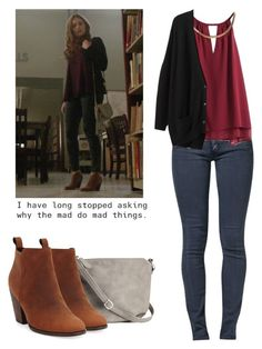 """Lydia Martin 5x18 - teen wolf / tw"" by shadyannon ❤ liked on Polyvore featuring Cheap Monday, H&M, Organic by John Patrick and Cole Haan"