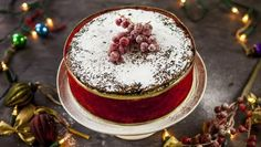 A great cake to make close to Christmas because it doesn't need feeding.