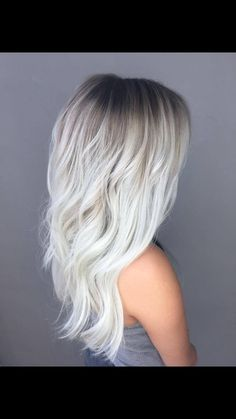 21 Icy Blonde Hair with Dark Roots Colour Ideas 21 Icy Blonde Hair . - 21 Icy Blonde Hair with Dark Roots Colour Ideas 21 Icy Blonde Hair with Dark Roots Col - Ice Blonde Hair, Icy Blonde, Balayage Hair Blonde, Platinum Blonde Hair, Dark Hair, Blonde Color, Brown Hair, Short Blonde, Blonde Hair Dark Roots Balayage
