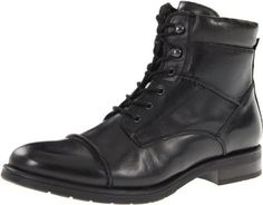 GBX Men's 09121 GBX. $79.95. Lace-up closure with side zipper for easy on/off. Rubber traction outsole with slight heel for durability and grip. Leather lining with a padded collar and cushioned insole for a comfortable fit. Unknown. This dressy men's ankle boot adds modern style to any outfit.. Smooth leather upper with cap toe and ridged stitch detailing for sophisticated style