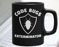 Code Bugs Exterminator - Funny Mug for Programmers