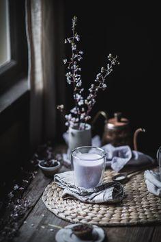 Hibiscus Vanilla Tea Latte — Adventures in Cooking