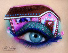 Cette maquilleuse transforme les yeux en conte de son enfance✖️No Pin Limits✖️More Pins Like This One At FOSTERGINGER @ Pinterest✖️