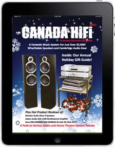 CANADA HiFi December/January 2013/2014 Digital/Tablet/iPad Edition is Now Available!