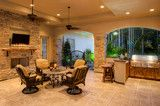 Millers Lane - Traditional - Porch - houston - by Frankel Building Group