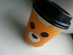 Diy fox coffee cup🌿❤