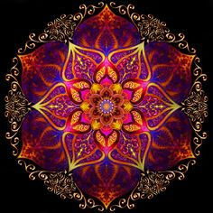 Mandala Of Fire - Fred Andrews IV