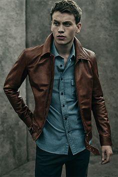 Beckham for Belstaff   Leather Jackets   Belstaff