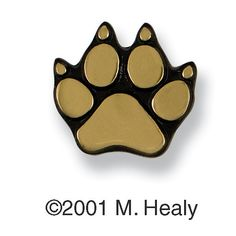 Michael Healy MHR Paw Ringer Doorbell Button | ATG Stores (This would be cute on the exterior door to the mud room)