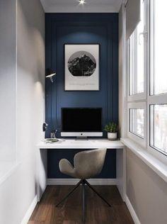 Home Office Design Diy Home Study Design, Design Room, House Design, Design Desk, Home Office Space, Home Office Desks, Office Nook, Office Setup, Home Office Furniture