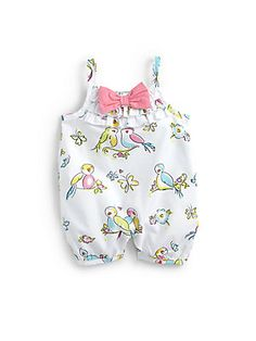 Juicy Couture Infant's Birdie Romper.  Ahhh, I have to get this for Avery! Cutest little outfit everrr <3