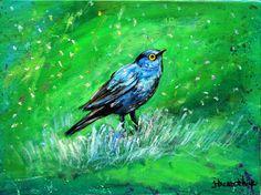 Art paintingbird bird painting wildlife by ThisArtToBeYours, $145.00