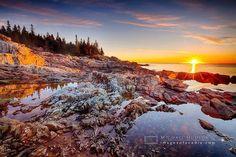 Sunrise at Acadia - photo by Mike Hudson