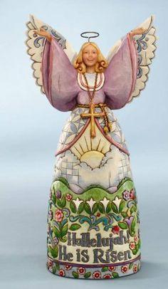 Jim Shore Easter : Hallelujah Angel Figurine 4010471