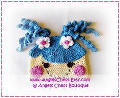 Lala Loopsy crochet hat