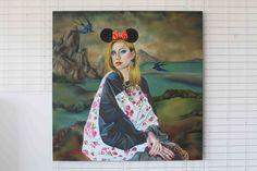 Lona Misa  160cm x 160cm, tempera żółtkowa, olej, płótno, 2012 160cm x 160cm, yolk tempera, oil, canvas, 2012