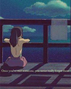 Spirited Away - Chihiro - Studio Ghibli Studio Ghibli Art, Studio Ghibli Movies, Studio Ghibli Quotes, Hayao Miyazaki, Anime Kunst, Anime Art, Chihiro Y Haku, Japon Illustration, Anime Lindo